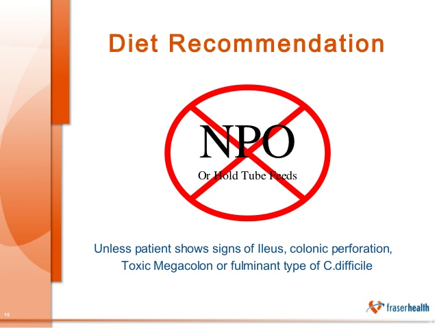 What Is Npo Diet