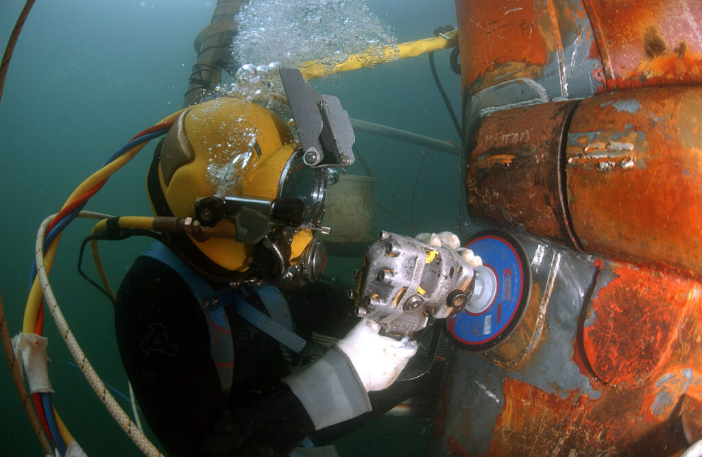 organisation offering training and certification in diving